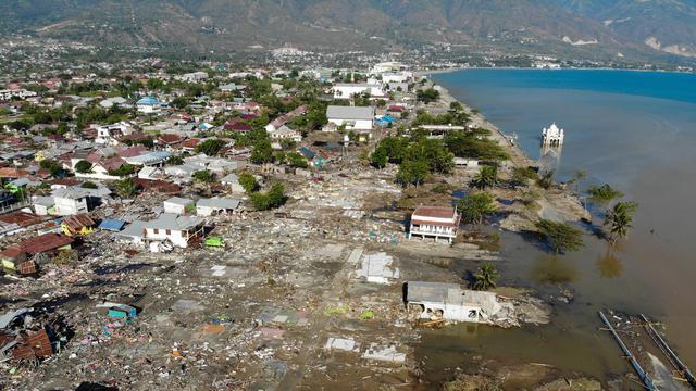 巴鲁(Palu)的前海啸地区成为人们最喜爱的旅游目的地