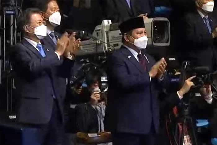 普拉博沃(Prabowo Subianto)据称同意与韩国在战机项目合作