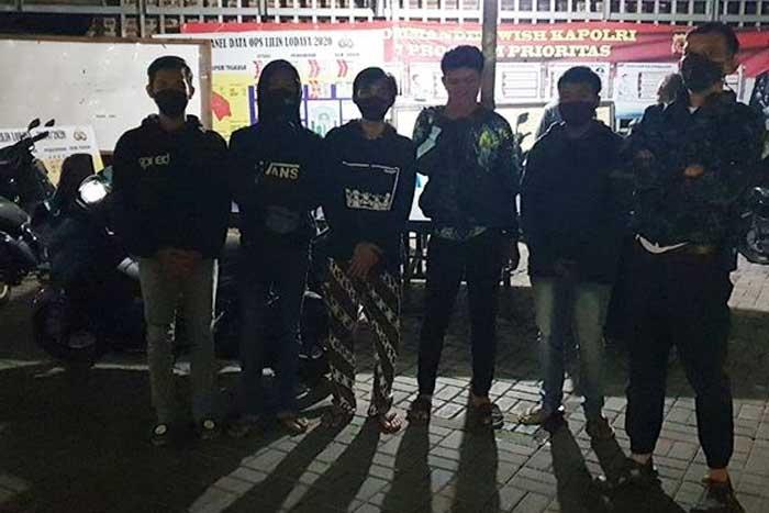 无法无天!万隆市 BKR 道路被一群青少年用于非法街头赛车