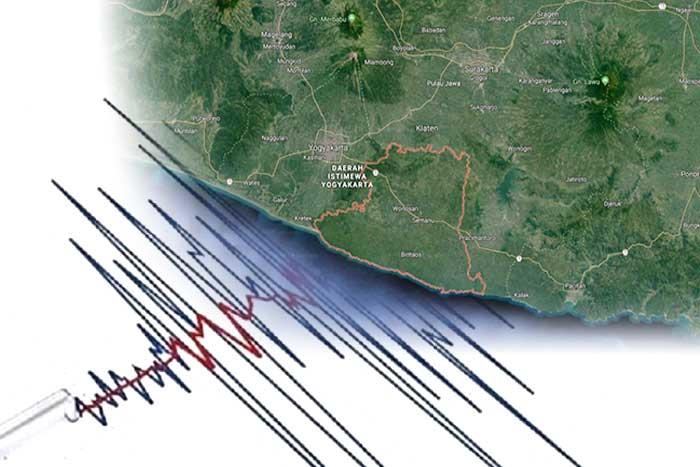 古农基都尔发生 4.2 级地震,惹古农基都尔(Gunungkidul)发生4.2级地震