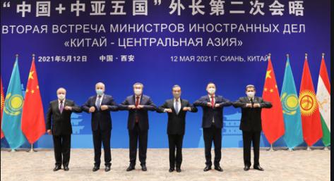 """""""中国+中亚五国""""外长共同应对疫情声明:愿研究健康码互认"""