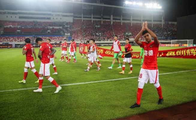 广州队球员进国家队征战40强赛