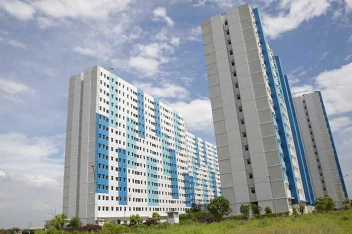 芝灵津 Nagrak 公寓开始用于隔离新冠肺炎(Covid-19)患者