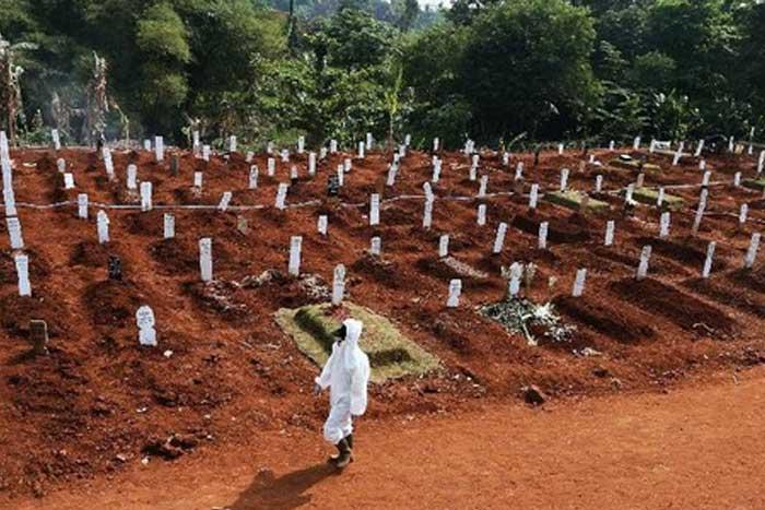仅仅在雅加达新增 4,144 起新冠肺炎病例!