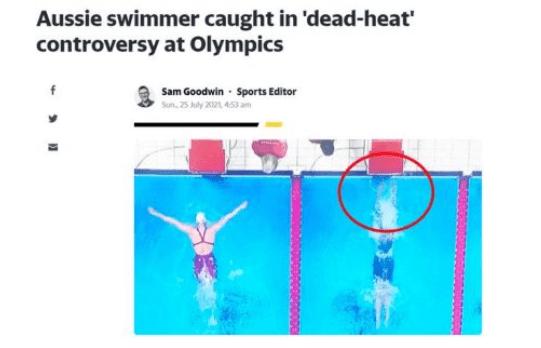 有图有真相 ?继霍顿攻击孙杨后,澳媒又开始diss中国游泳运动员