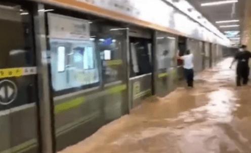 我在郑州暴雨中,亲历地铁惊魂!