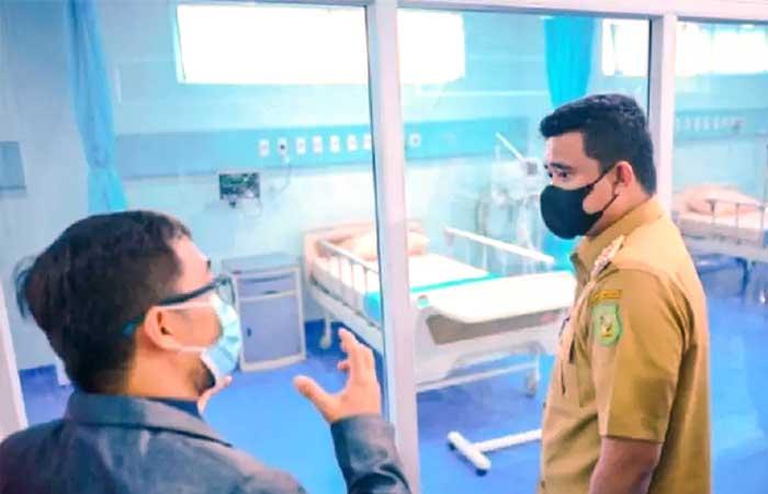 棉兰医院入住率高达 60.7%,2 周内上升了23%