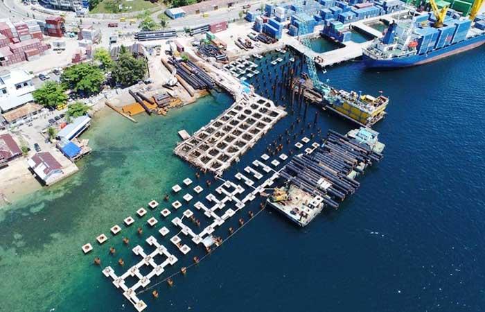注入1659.8亿资金,这是巴布亚梭隆和阿拉尔港口的进展
