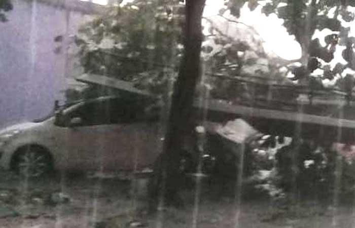 BMKG 揭示德博可能再次发生龙卷风-冰雹
