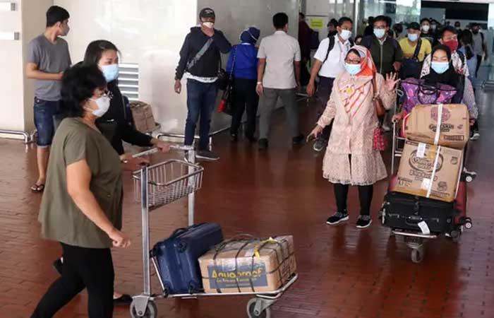 社区活动限制延长,政府收紧我国印尼的入口