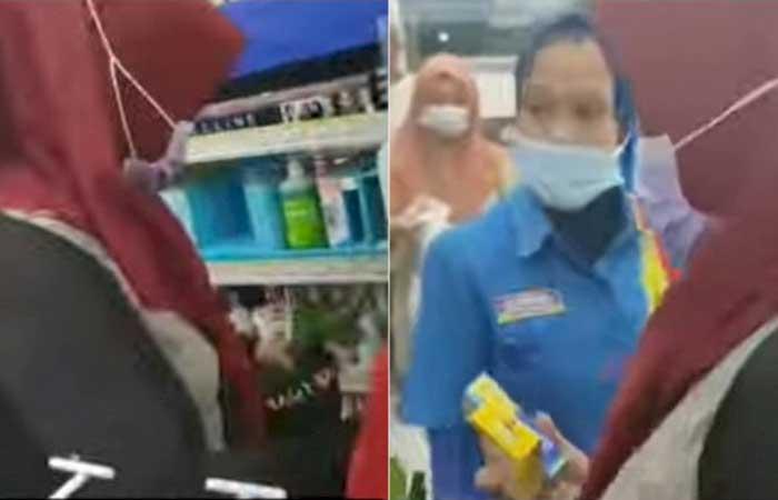 怒呛在超市偷窃的夫妻,超市雇员获得赞誉