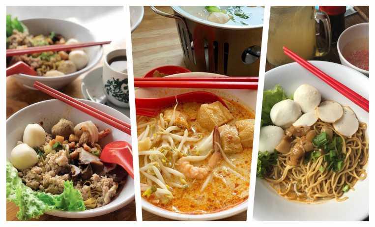 新加坡干麺爱好者,肯定知道这道菜单:肉脞麺